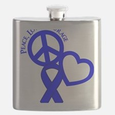 Blue, Courage Flask