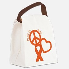 Orange, Courage Canvas Lunch Bag