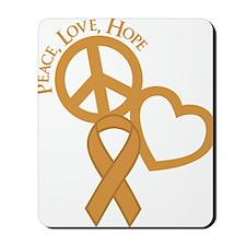 Gold, Hope Mousepad