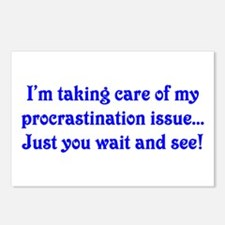 Procrastination Postcards (Package of 8)
