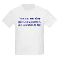 Procrastination Kids T-Shirt