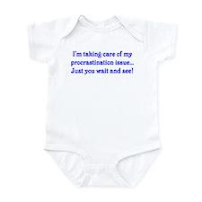 Procrastination Infant Bodysuit