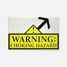 chokinghazard2 Rectangle Magnet