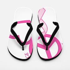 Pink, Courage Flip Flops
