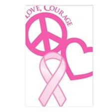 Pink, Courage Postcards (Package of 8)
