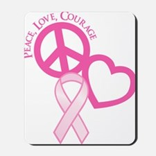 Pink, Courage Mousepad