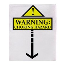 chokinghazard Throw Blanket