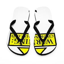chokinghazard Flip Flops