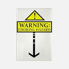 chokinghazard Rectangle Magnet