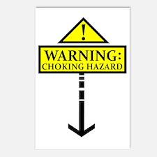 chokinghazard Postcards (Package of 8)
