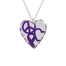 Purple, Hope Necklace