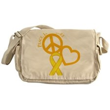 yellow, Cure Messenger Bag