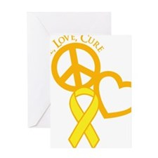 yellow, Cure Greeting Card