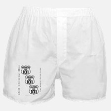 US Route 101 - All - old small Boxer Shorts