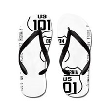 US Route 101 - All - old small Flip Flops
