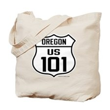 US Highway - Oregon 101 - old Tote Bag