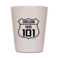 US Highway - Oregon 101 - old Shot Glass