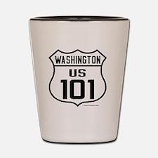 US Highway - Washington 101 - Shot Glass