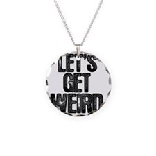 getweird Necklace Circle Charm