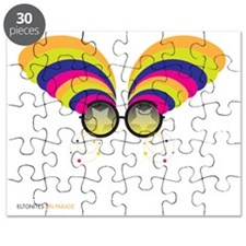 EltonGlasses_White-T Puzzle