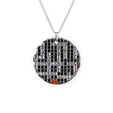 CROSSWORD NEWFOUNDLAND with  Necklace