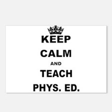 KEEP CALM AND TEACH PHYS ED Postcards (Package of