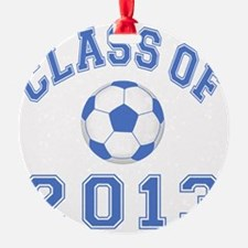 CO2013 Soccer Blue-White Ornament
