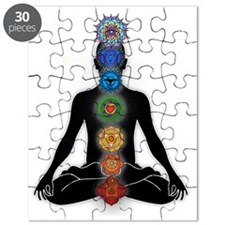 Subtle Body With Chakras Puzzle