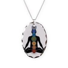 Subtle Body With Chakras Necklace
