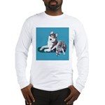 Siberian Husky and Puppy Long Sleeve T-Shirt