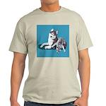 Siberian Husky and Puppy Light T-Shirt