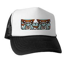 GreedyMugMascot Trucker Hat