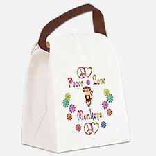 monkey Canvas Lunch Bag