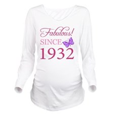 Butterfly1932 Long Sleeve Maternity T-Shirt