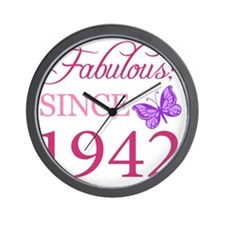 Butterfly1942 Wall Clock