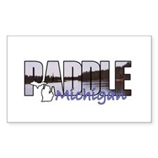 Paddle Michigan Decal