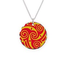 ---red yellow Necklace
