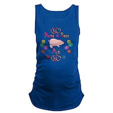 pig Maternity Tank Top