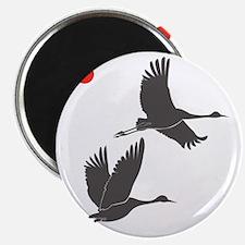 Soaring Cranes Magnet