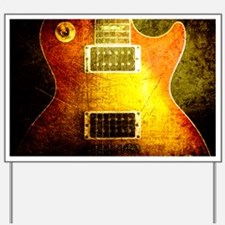 vintage-les-paul2 Yard Sign