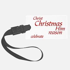 Christ-Christmas1 Luggage Tag
