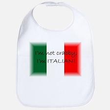 Crabby Italian Bib