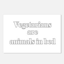 Vegetarians are animals in be Postcards (Package o