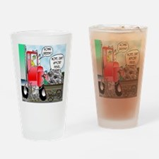 8520_diesel_cartoon Drinking Glass