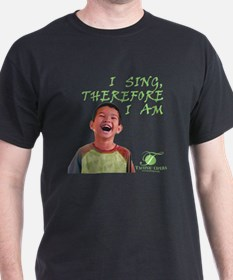 i-sing-therefore-i-am3-dark T-Shirt