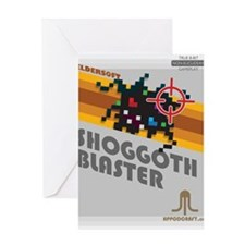 shoggothblaster2 Greeting Card