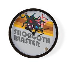 shoggothblaster2 Wall Clock