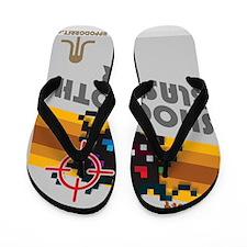 shoggothblaster2 Flip Flops