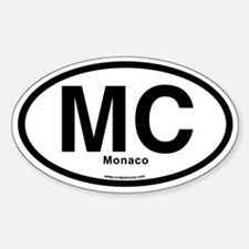 Mc - Monaco Decal Decal