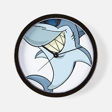 SharkBites_Shark-Full Color Wall Clock